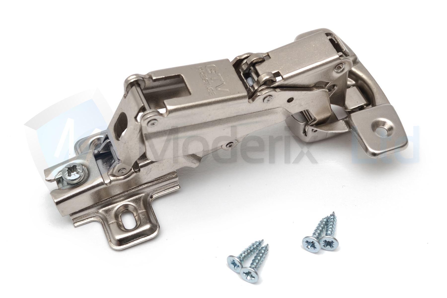 35mm 165 Degree Kitchen Cabinet Wardrobe Door Hinge Angular Screws