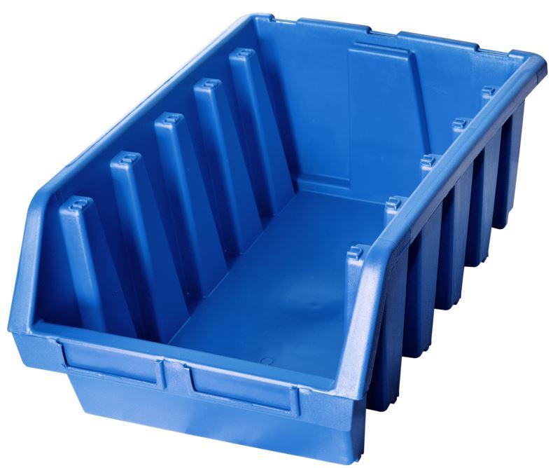 Ergo-Bleu-Noir-Rouge-Bac-de-rangement-Bacs-en-plastique-Toutes-les-tailles miniature 40