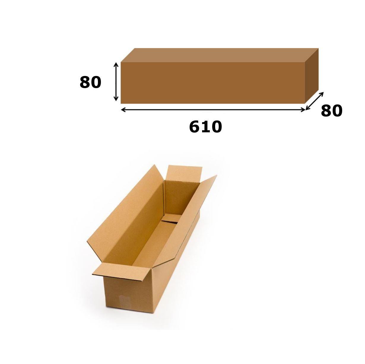 miniatura 6 - Embalaje de cajas de cartón postal de correo Caja de Envío Marrón todos los tamaños