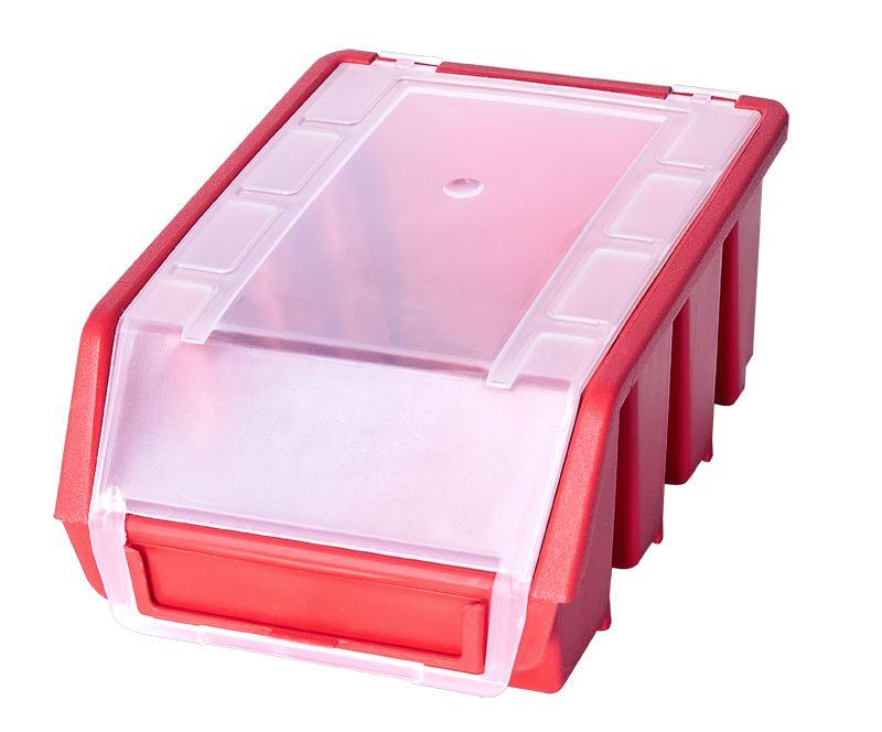 Ergo-Bleu-Noir-Rouge-Bac-de-rangement-Bacs-en-plastique-Toutes-les-tailles miniature 18