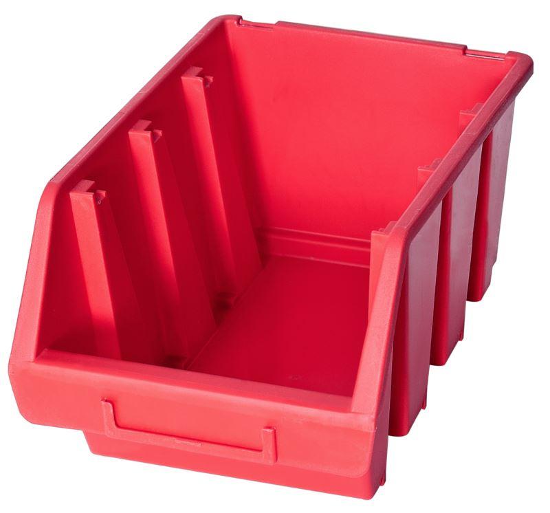 Ergo-Bleu-Noir-Rouge-Bac-de-rangement-Bacs-en-plastique-Toutes-les-tailles miniature 30