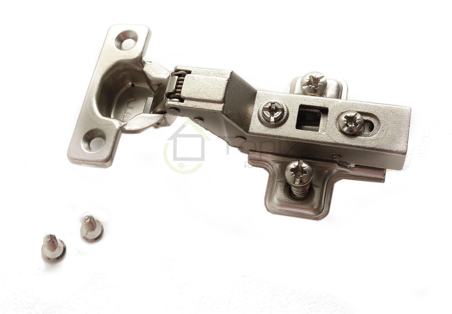 gtv soft close 26mm flush inset kitchen cabinet door hinge. Black Bedroom Furniture Sets. Home Design Ideas