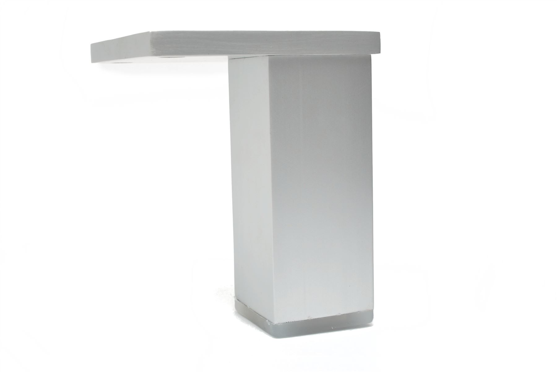 Aluminium Füße Beine Schränke Küche Möbel Chrom 70mm - 200mm | eBay