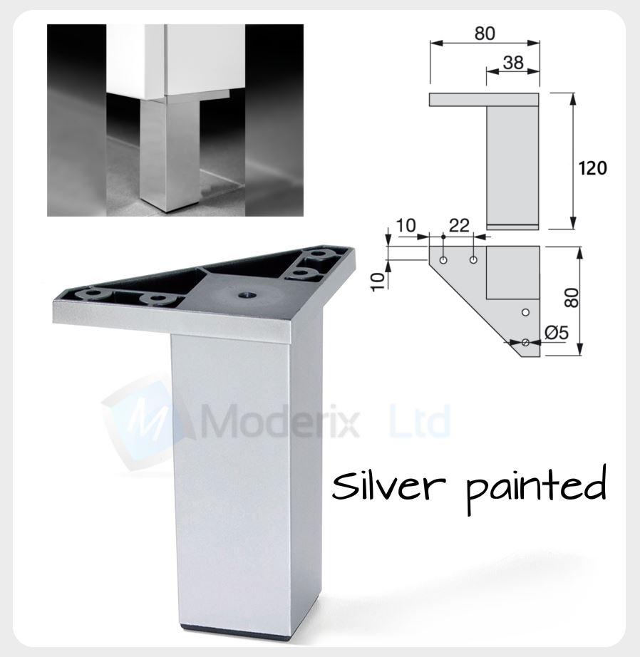 Plastico soporte muebles pies patas de mesa 72 120mm ebay for Patas muebles