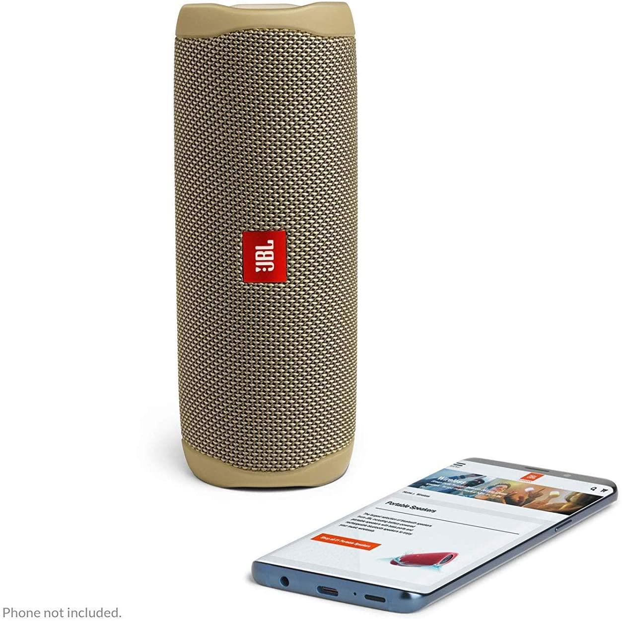 JBL-Flip-5-Portable-Waterproof-Bluetooth-PartyBoost-Speaker-Black-amp-Colours miniatura 34