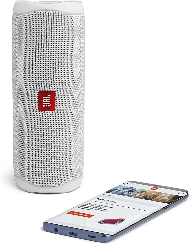 JBL-Flip-5-Portable-Waterproof-Bluetooth-PartyBoost-Speaker-Black-amp-Colours miniatura 43