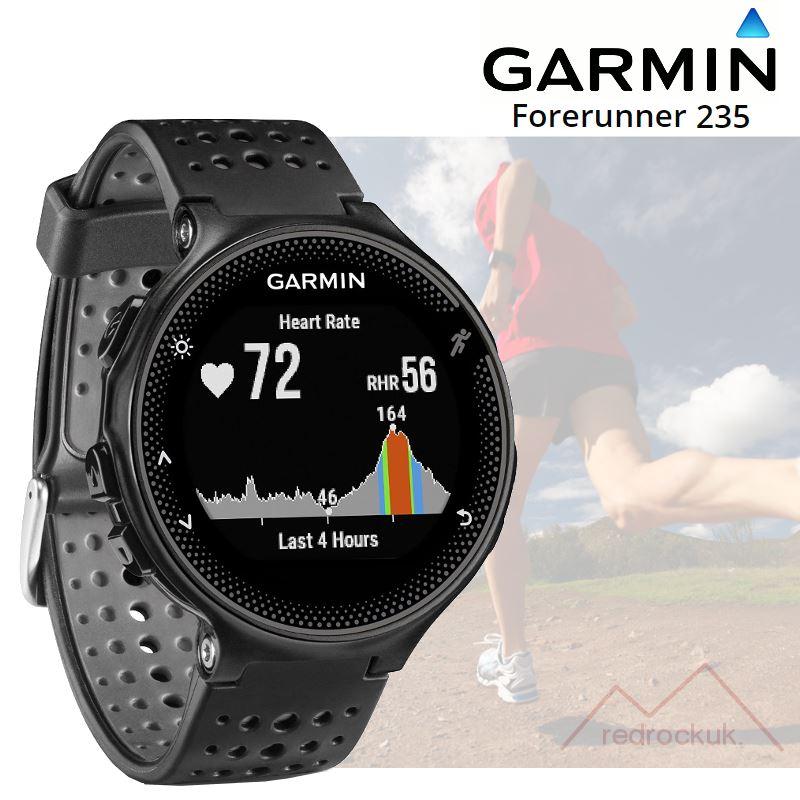 Details about Garmin Forerunner 235 ANT+ GPS Integrated HRM Sports Running  Watch - Black/Grey