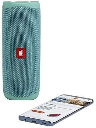 JBL-Flip-5-Portable-Waterproof-Bluetooth-PartyBoost-Speaker-Black-amp-Colours miniatura 39