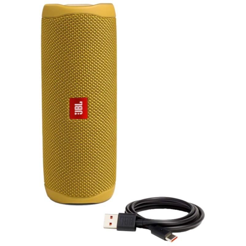 JBL-Flip-5-Portable-Waterproof-Bluetooth-PartyBoost-Speaker-Black-amp-Colours miniatura 50
