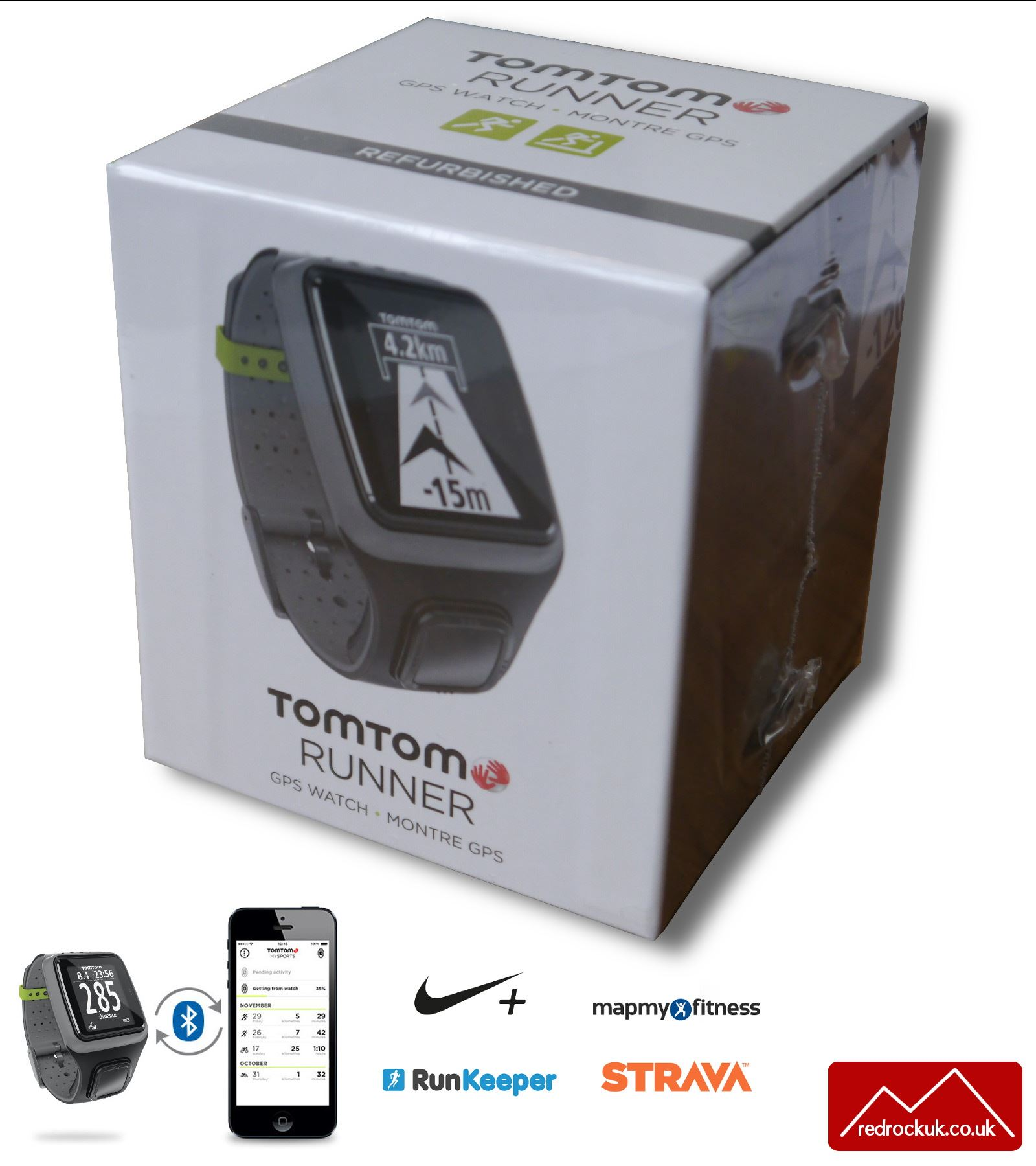 TomTom Runner GPS Sports Running Watch & Graphical ...