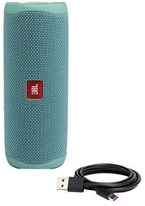 JBL-Flip-5-Portable-Waterproof-Bluetooth-PartyBoost-Speaker-Black-amp-Colours miniatura 38