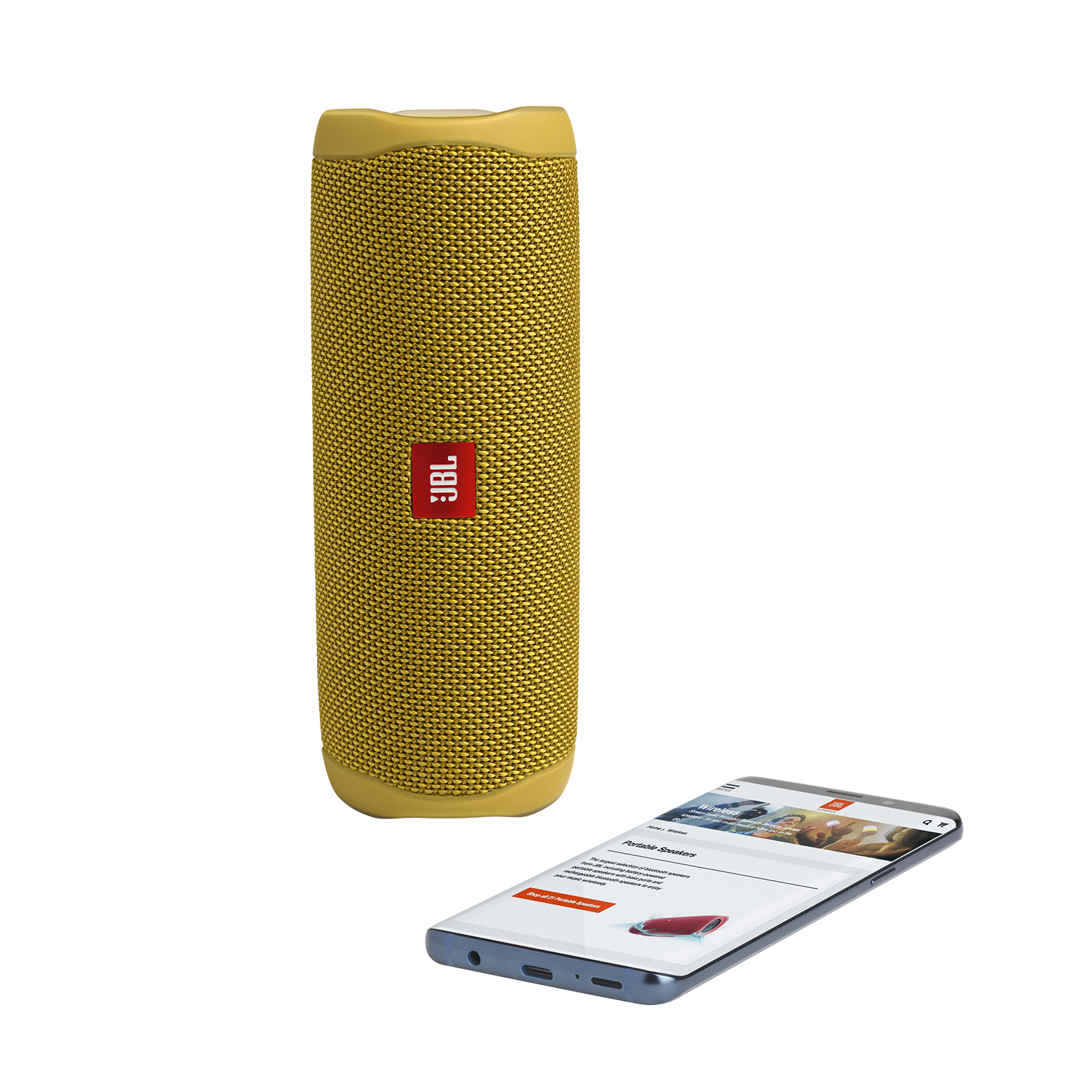JBL-Flip-5-Portable-Waterproof-Bluetooth-PartyBoost-Speaker-Black-amp-Colours miniatura 51