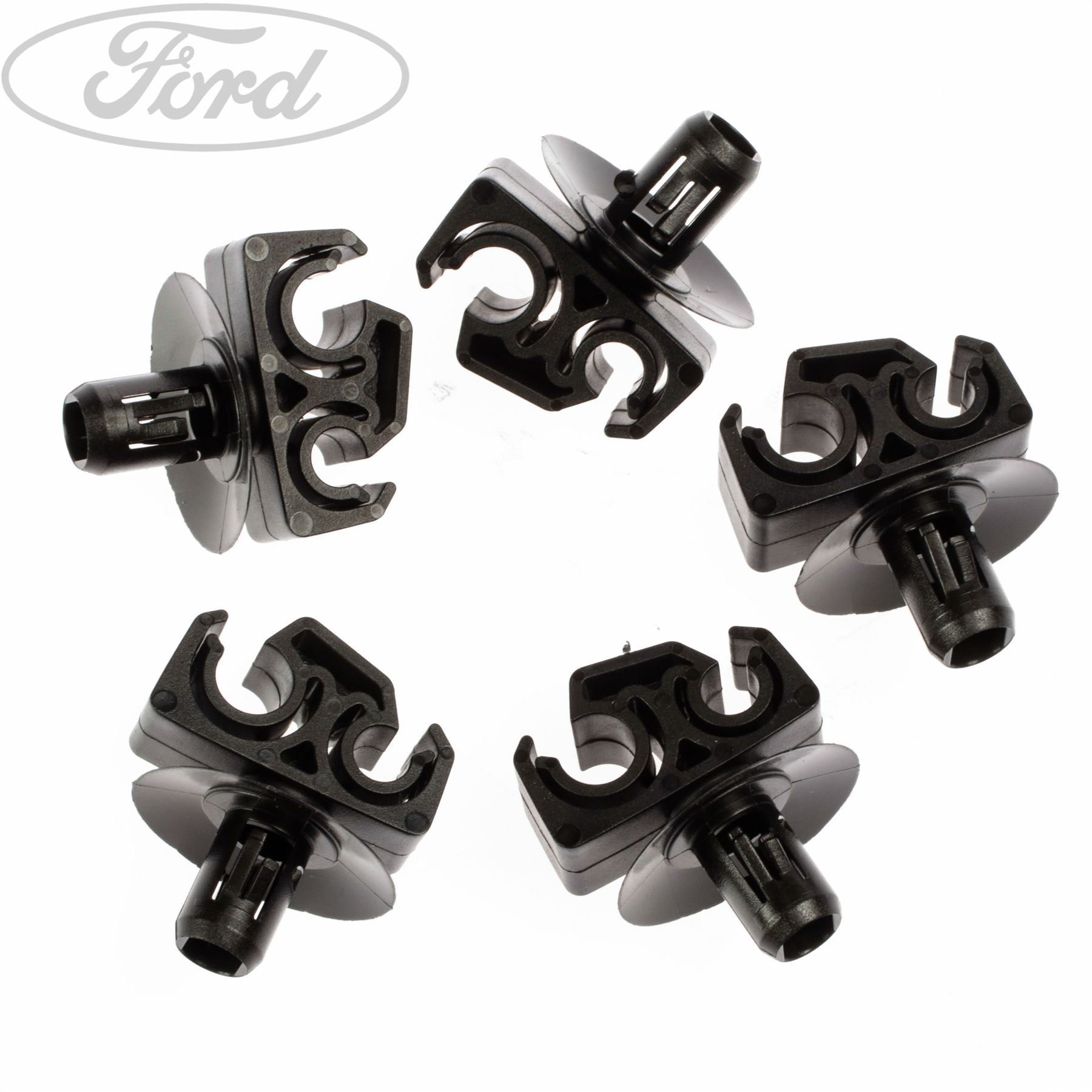 Genuine Ford Fuel Lines Clip x5 7021463