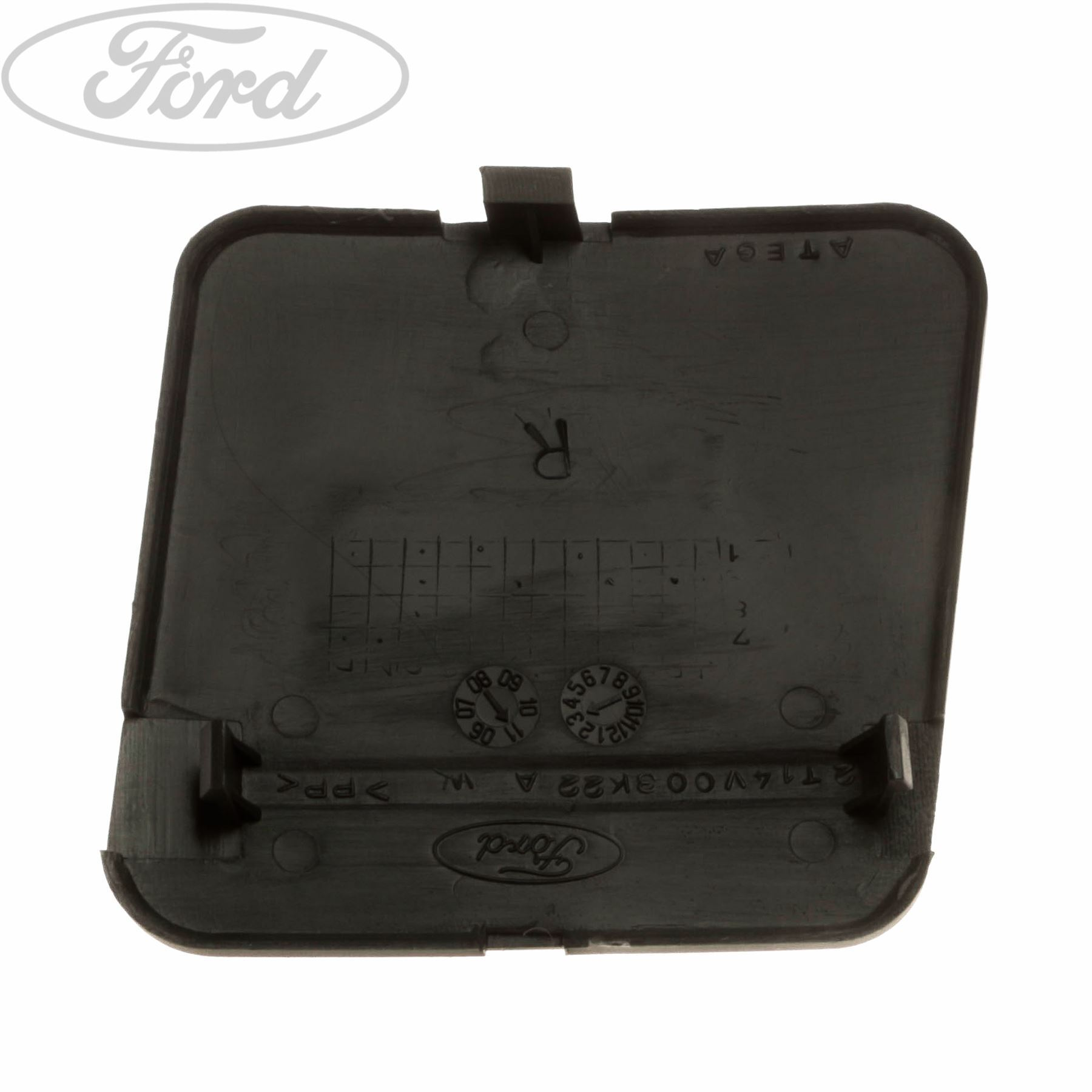 Genuine Ford Front Bumper Towing Hook Cover 4447723