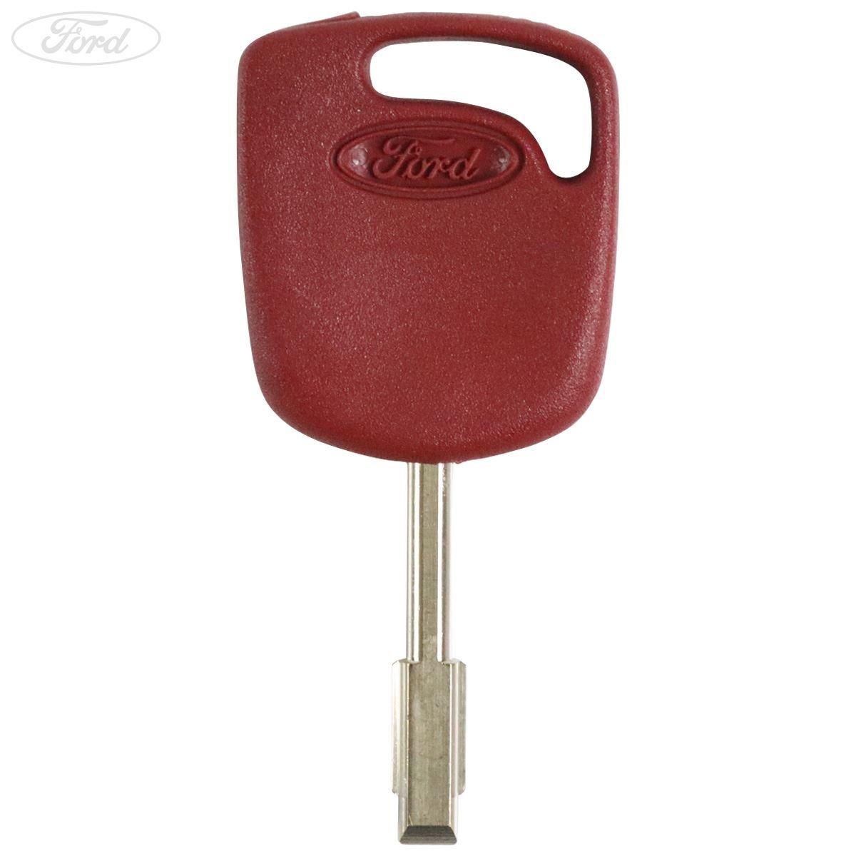 GENUINE Ford Escort Mondeo Fiesta RED Master Blank Key 1063687