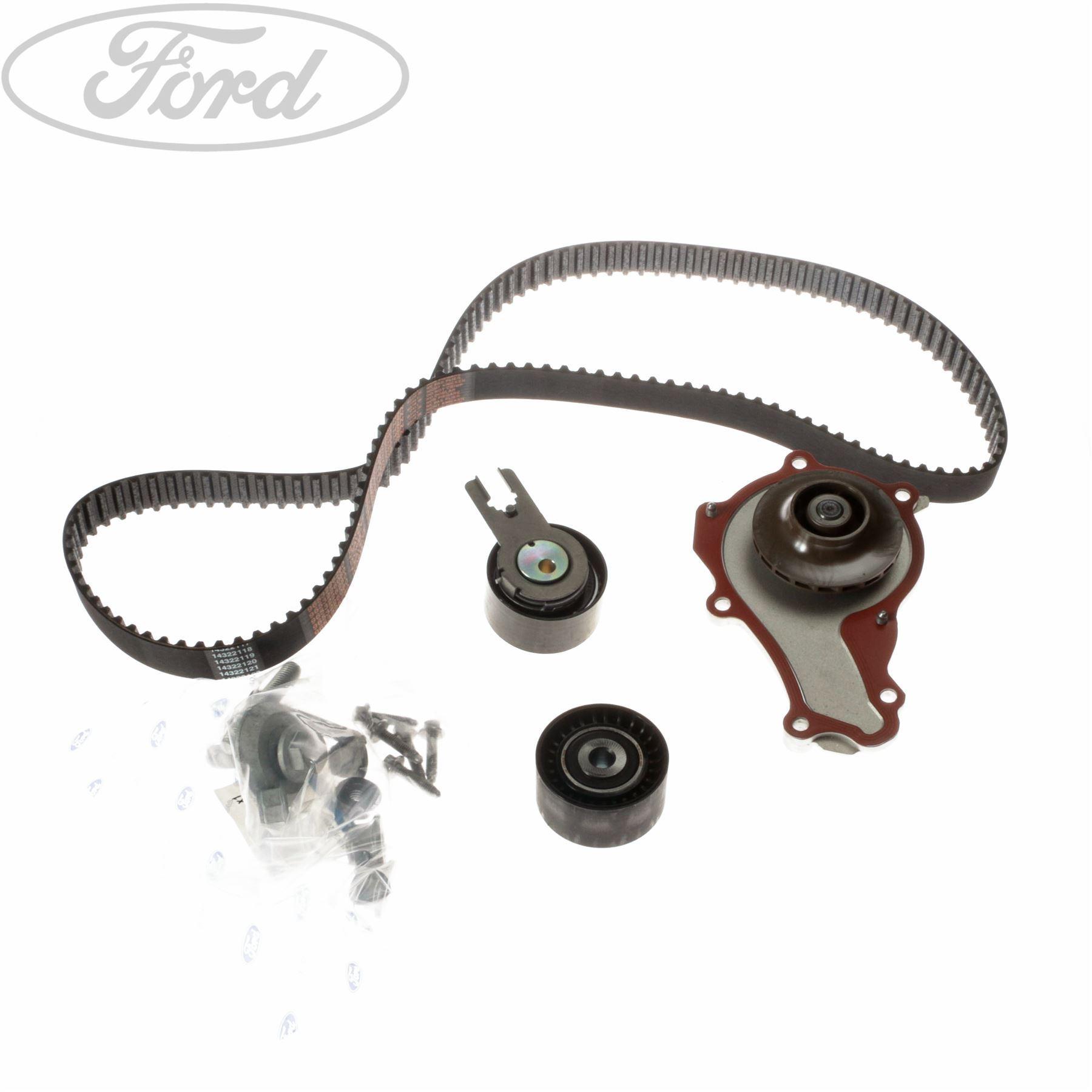 Genuine Ford Fiesta Mk6 Fusion Timing Cam Belt Kit Water Pump 2008680