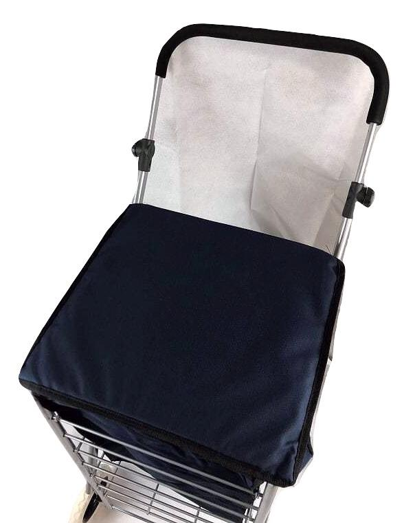 Solide Roue Shopping Trolley Festival Essentiel durable sac 4 Roues /& 6 roues