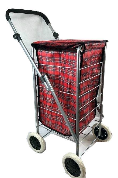 2 roues roulettes shopping trolley festival essentiel pliable durable à roues sac