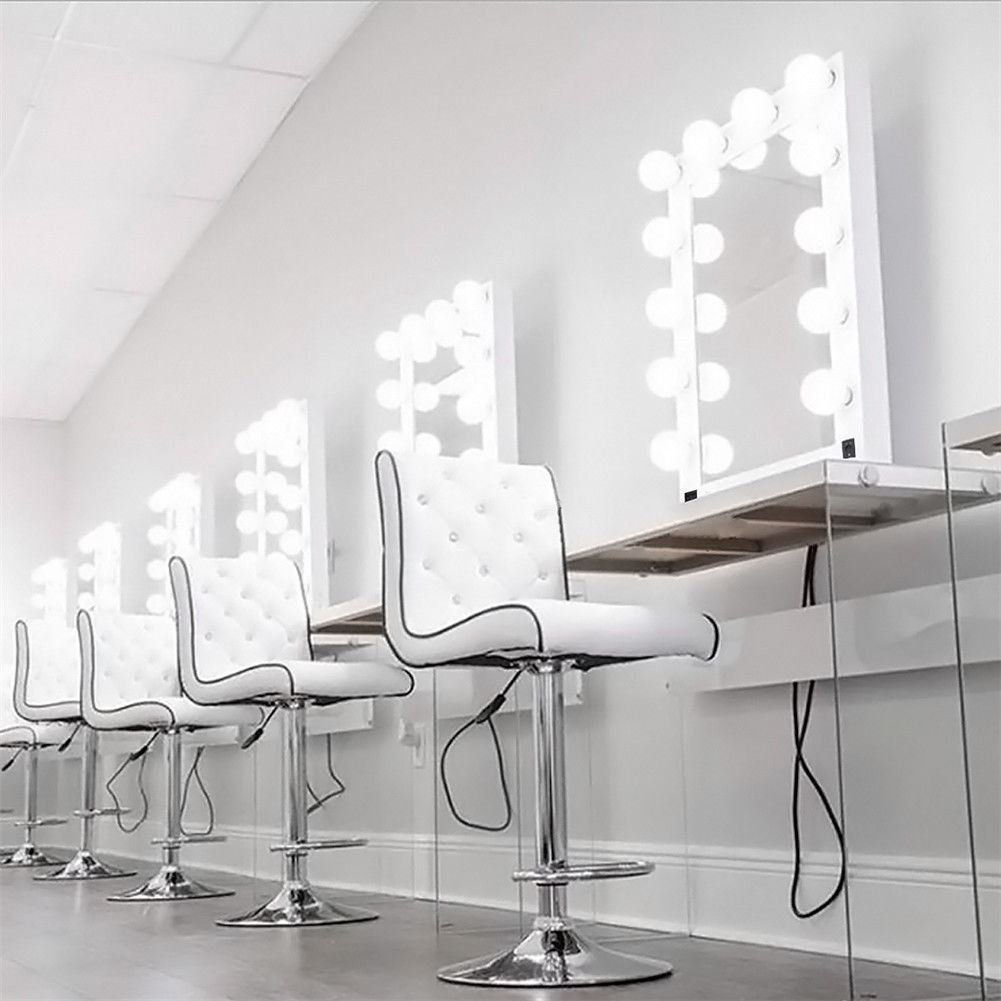 New Holywood Light Up Vanity Dressing Table Wall Makeup ...