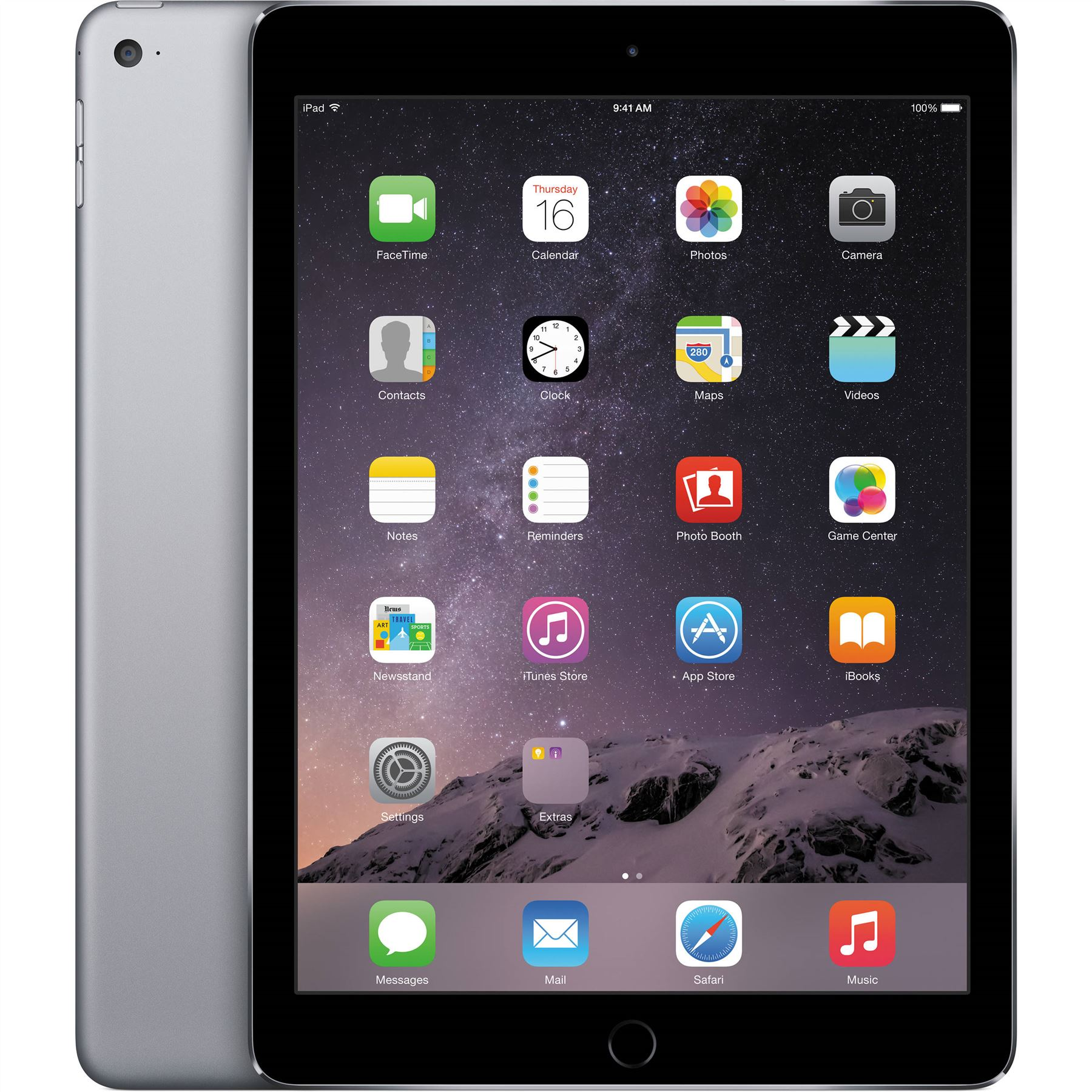 Apple-iPad-Air-2-16-32-64-128GB-Wifi-4-G-Cellular-Gris-Argent-Or-Tablette