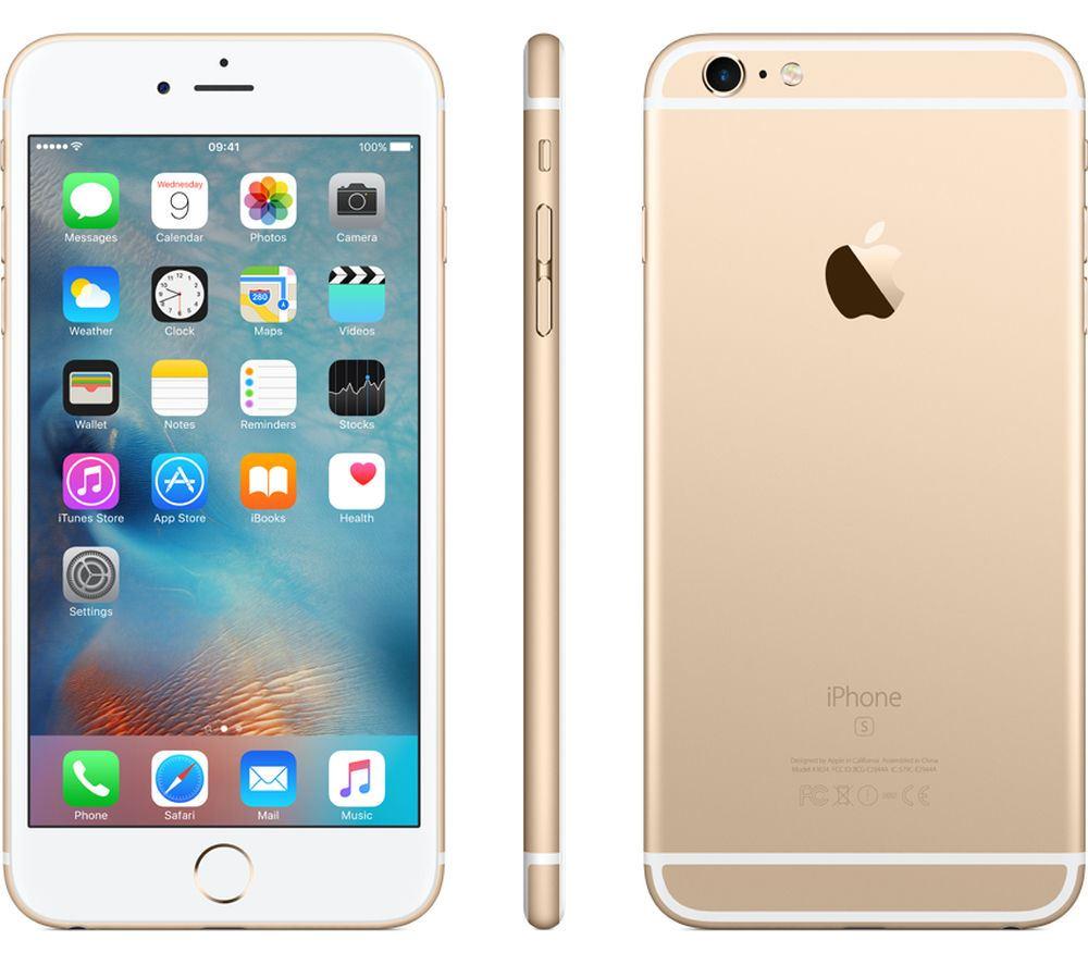 Apple-iPhone-6s-UNLOCKED-16-32-64-128GB-ALL-COLOURS-Smartphone miniatuur 2