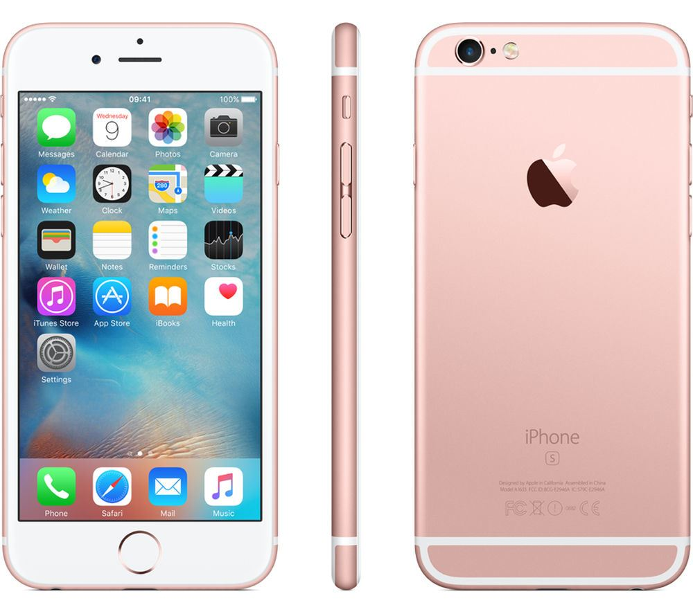 Apple-iPhone-6s-UNLOCKED-16-32-64-128GB-ALL-COLOURS-Smartphone miniatuur 3