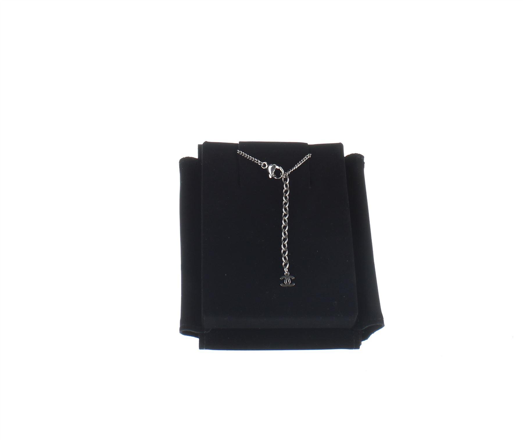 chanel votez coco rosa anhanger halskette ebay. Black Bedroom Furniture Sets. Home Design Ideas