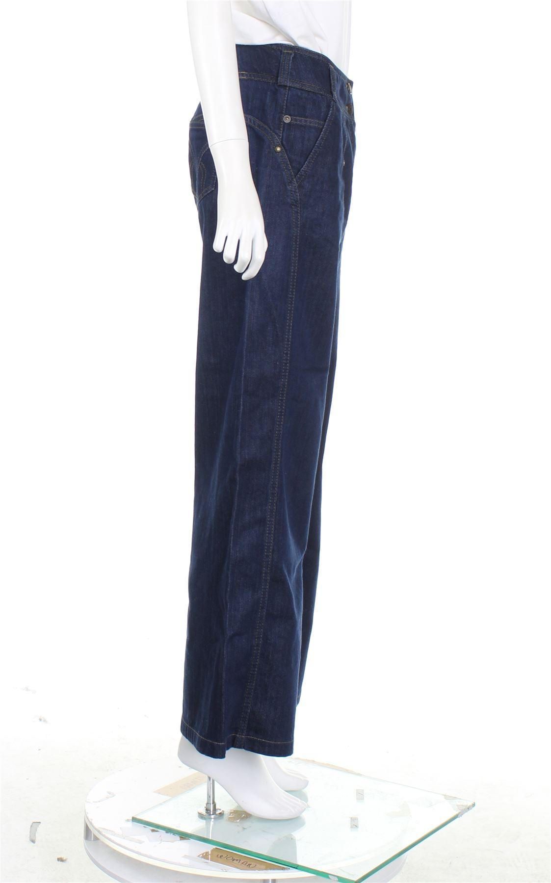 46d01d28 KENZO Navy Blue Denim Wide Leg Jeans, UK 10 US 6 EU 38 4 4 sur 4 Voir Plus