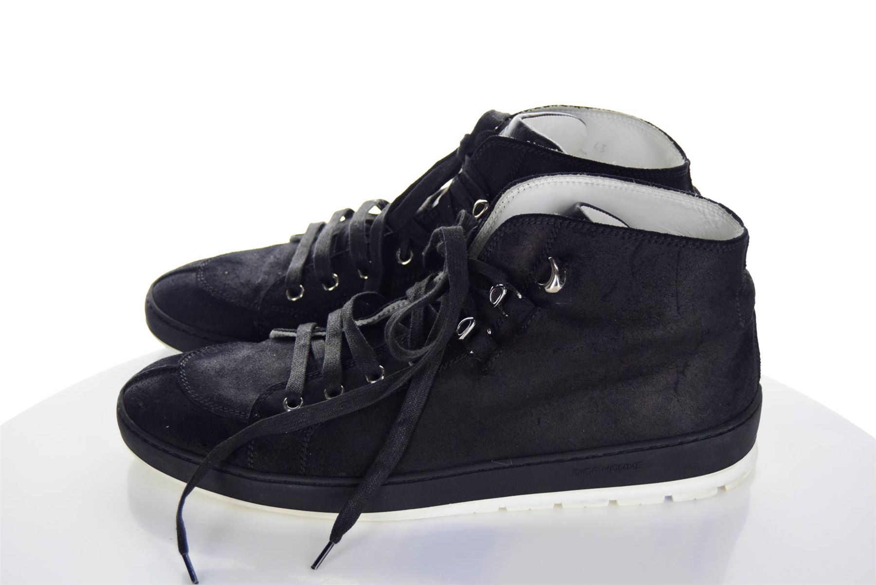 ea1a9f430f7 DIOR HOMME Black High-Top Sneakers