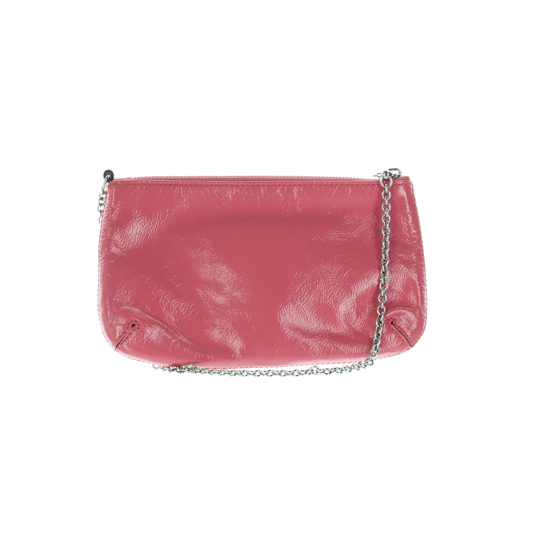 Details about MULBERRY Charlie Pink Patent Leather Clutch Bag 461ae3e958c85