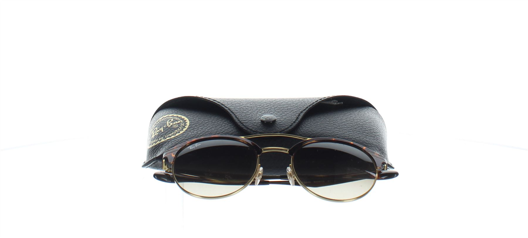 32fd2512769 Details about RAY-BAN RB3545 Brown Tortoise Shell Sunglasses