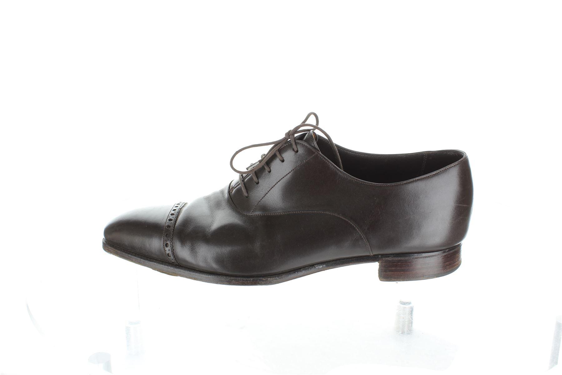 e1903d90a5 Détails sur GAZIANO & GIRLING Brown Chaussures à lacets, UK 10 US 11 EU 44