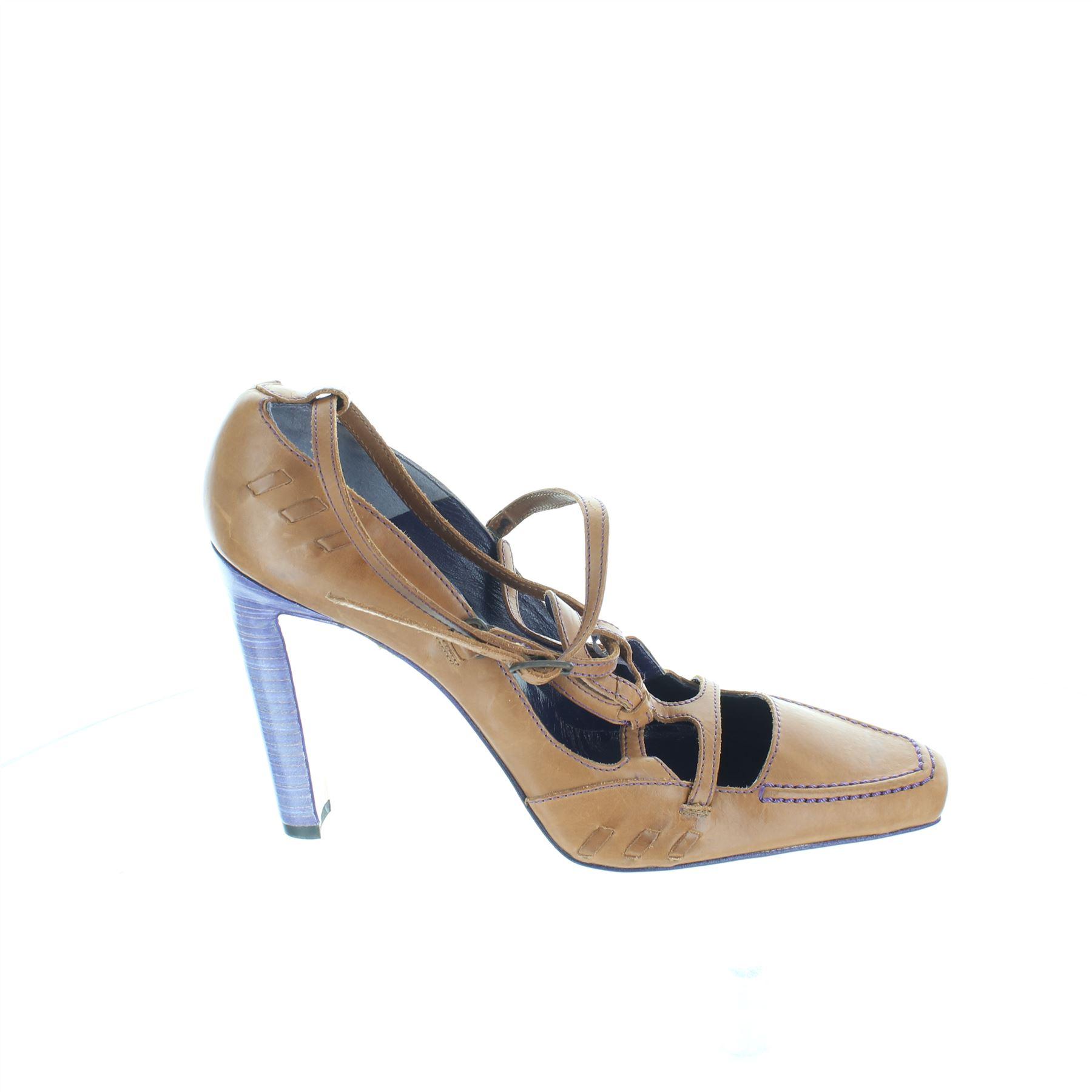 8963eed9190ed7 MANOLO BLAHNIK Brown talons en cuir / Pompes, UK 7 US 9 EU 39 | eBay