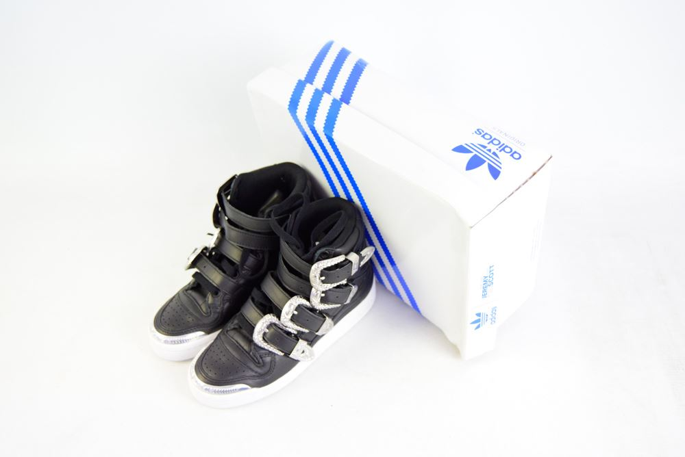 on sale 7b7af bc057 ADIDAS X JEREMY SCOTT Limited Edition in pelle scarpe tennis, UK 3.5 US 4  EU 36