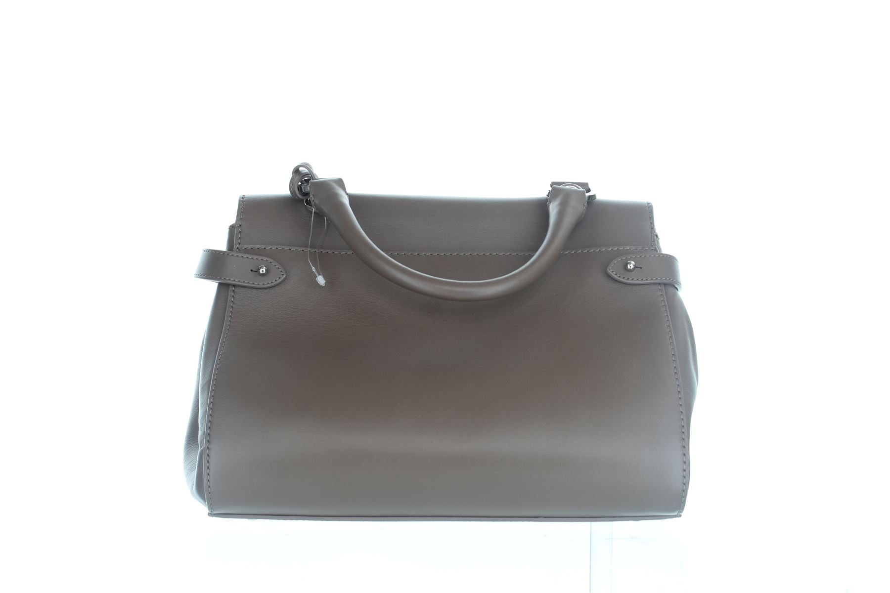 8b35301e0a ... official mulberry primrose taupe leather handle bag 8 x 6.5 x 11 b8733  30c97