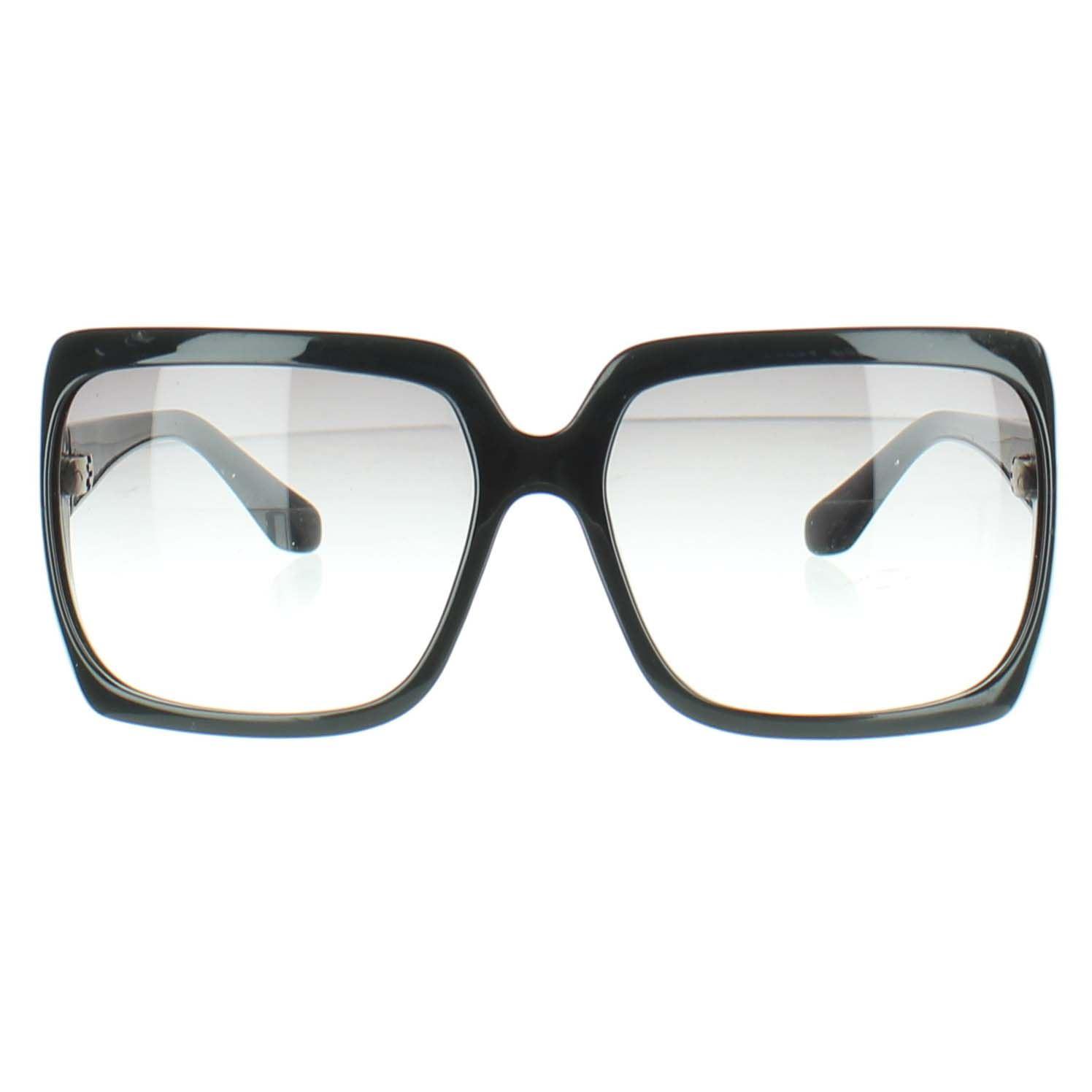 comprare on line 7c90b bf588 Dettagli su GIVENCHY Occhiali da sole neri di plastica
