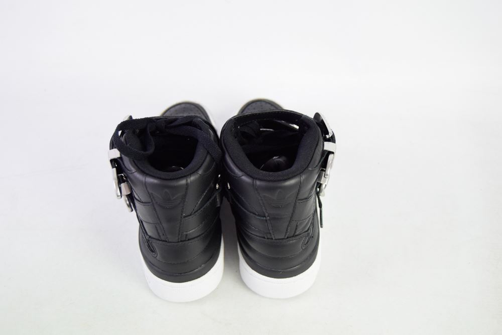 a20bf17c437f ADIDAS X JEREMY SCOTT Limited Edition Black Leather Sneakers