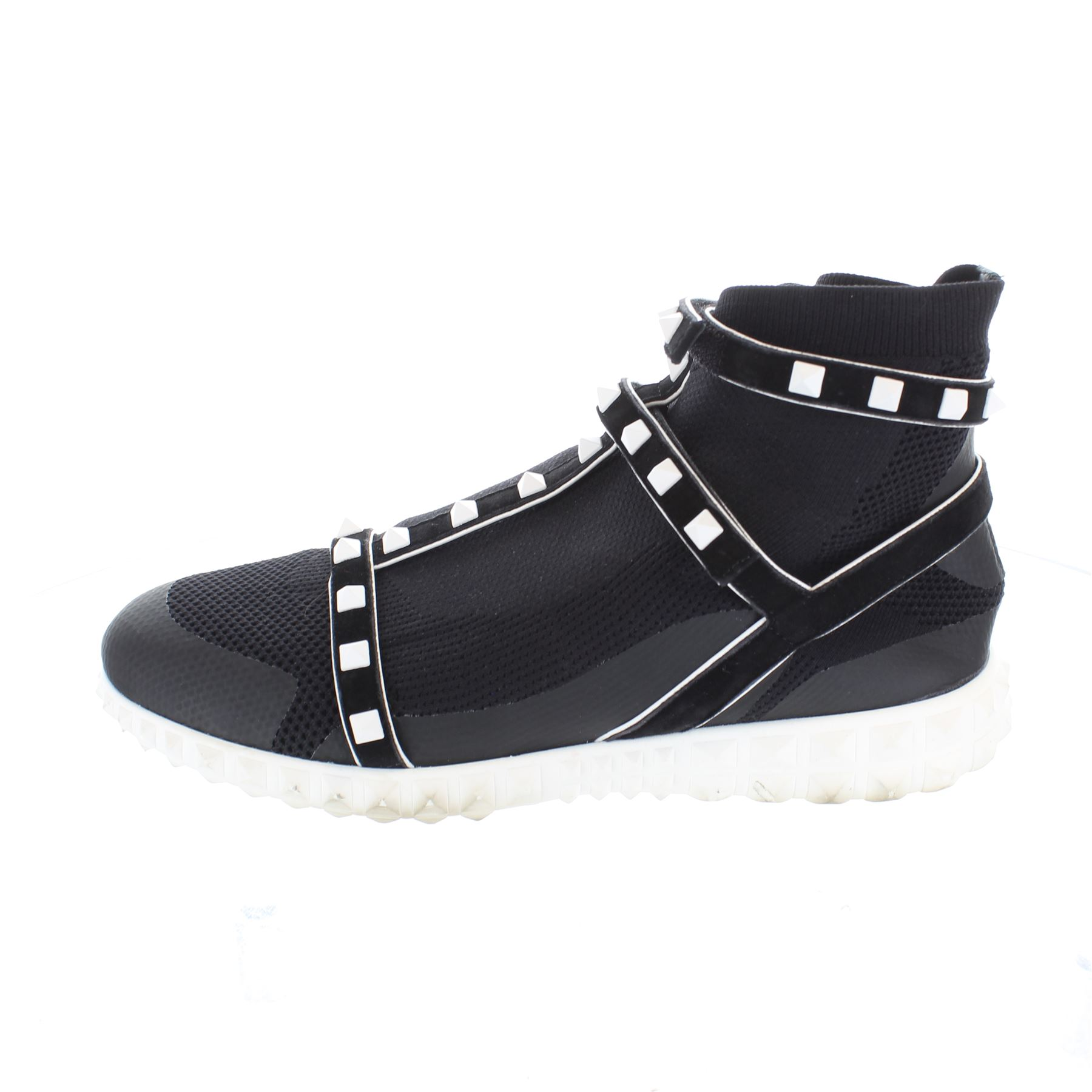 VALENTINO Rockstud Black Sock Cloth