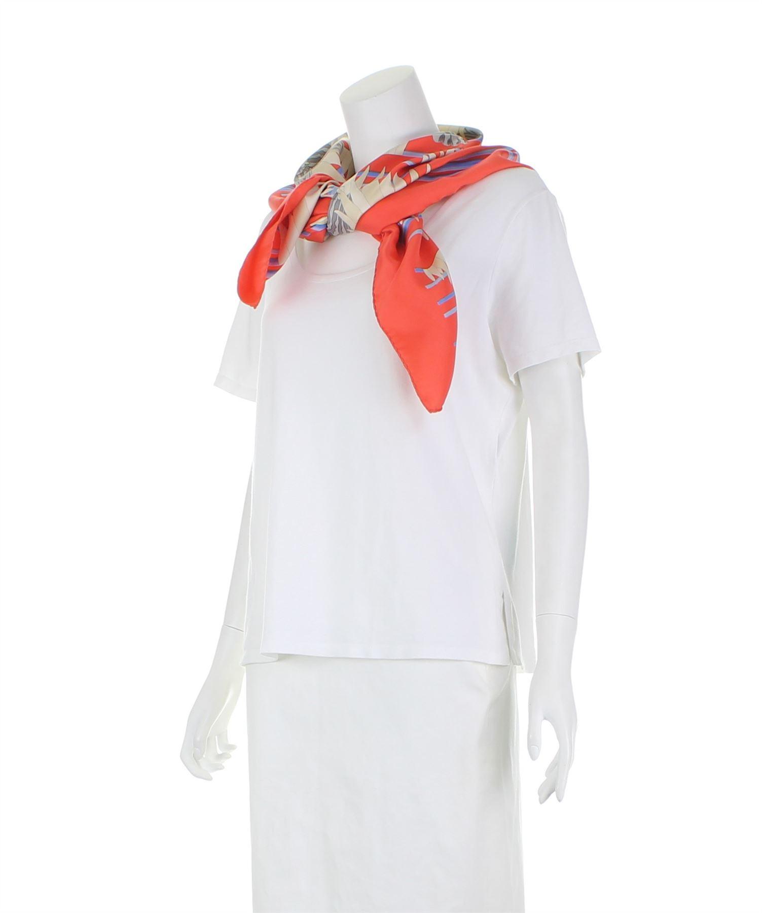 455fedafea7 HERMES-Foulard-en-soie-multicolore-35-5-034-