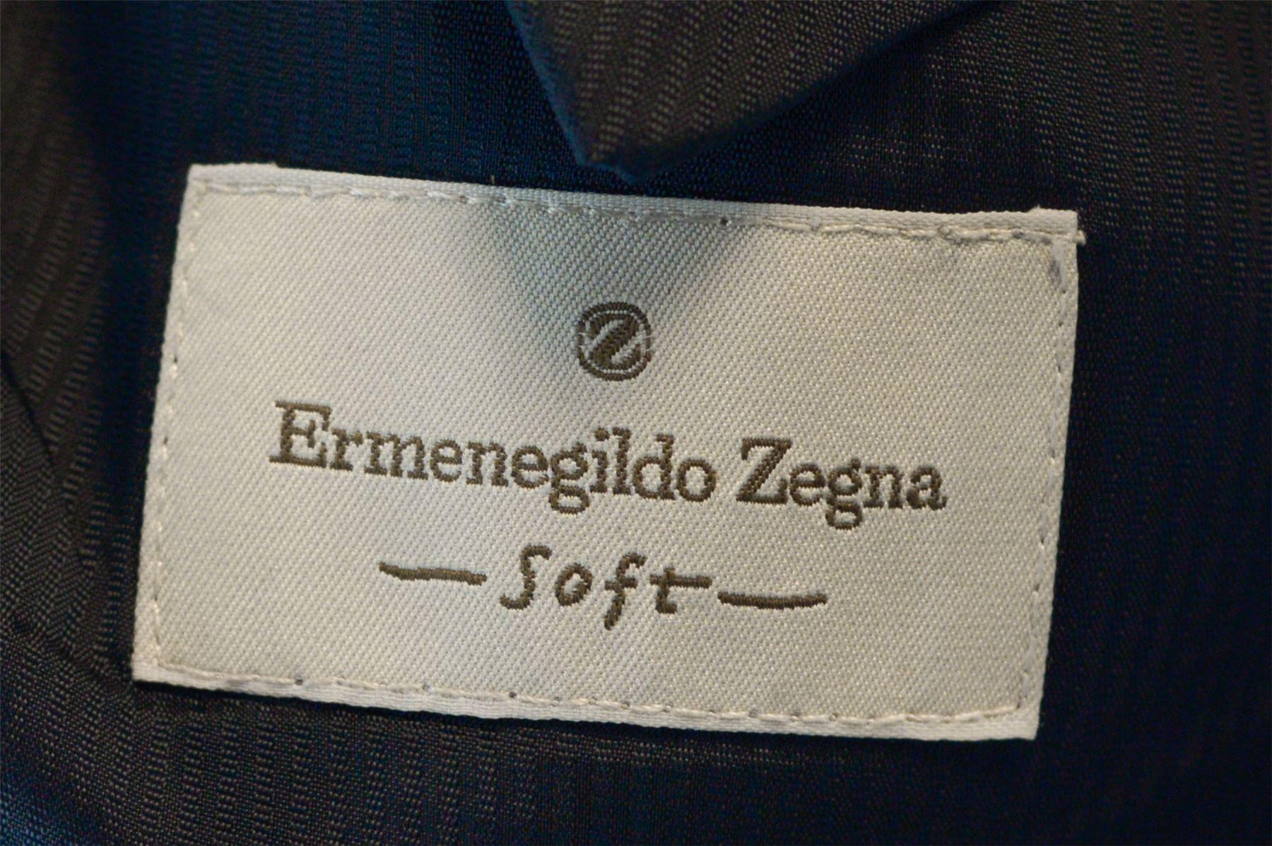 ERMENEGILDO ZEGNA Black Suit 37ab7392ea7