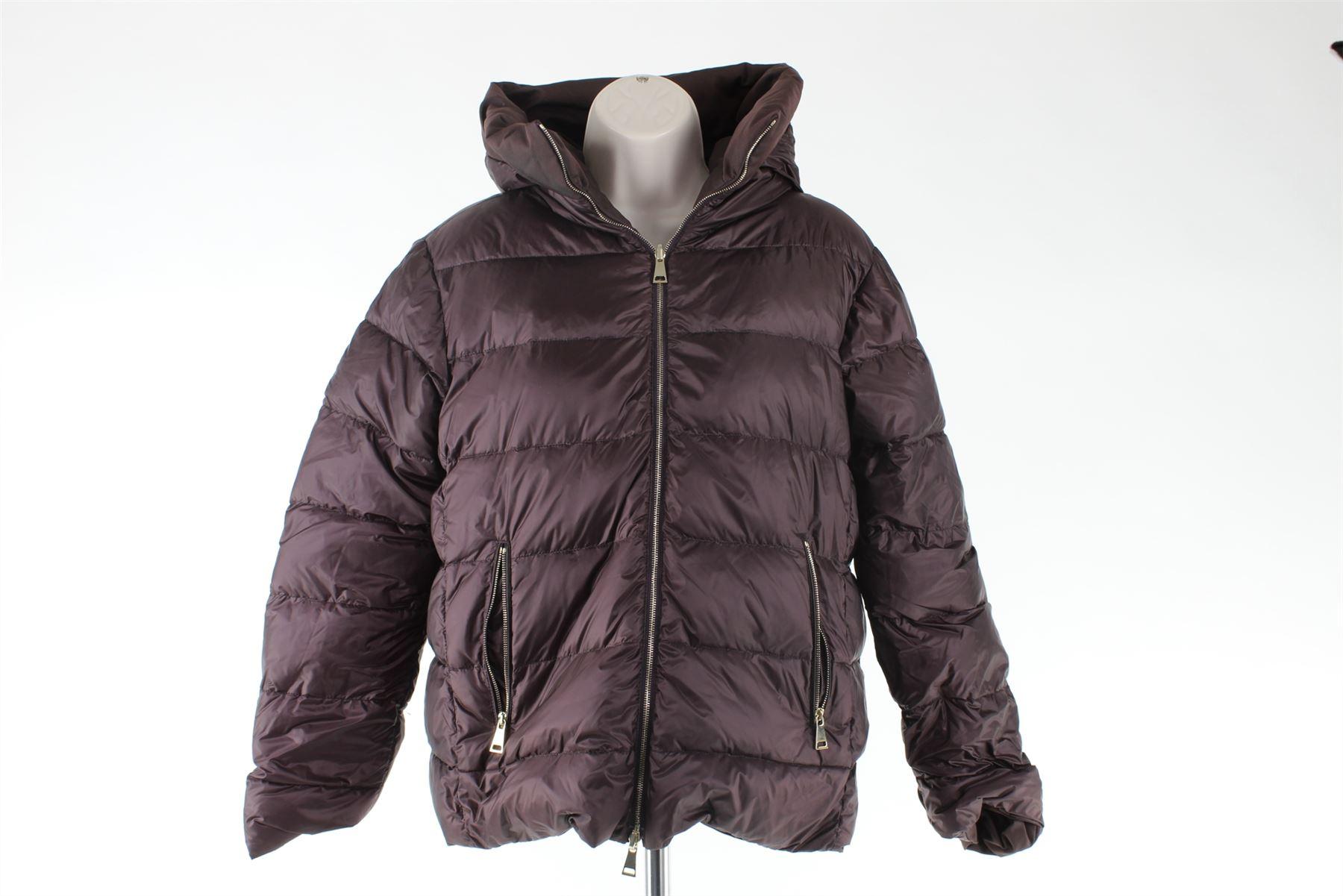 f02427a11 Details about MONCLER Caen Burgundy Reversible Jacket, Size S