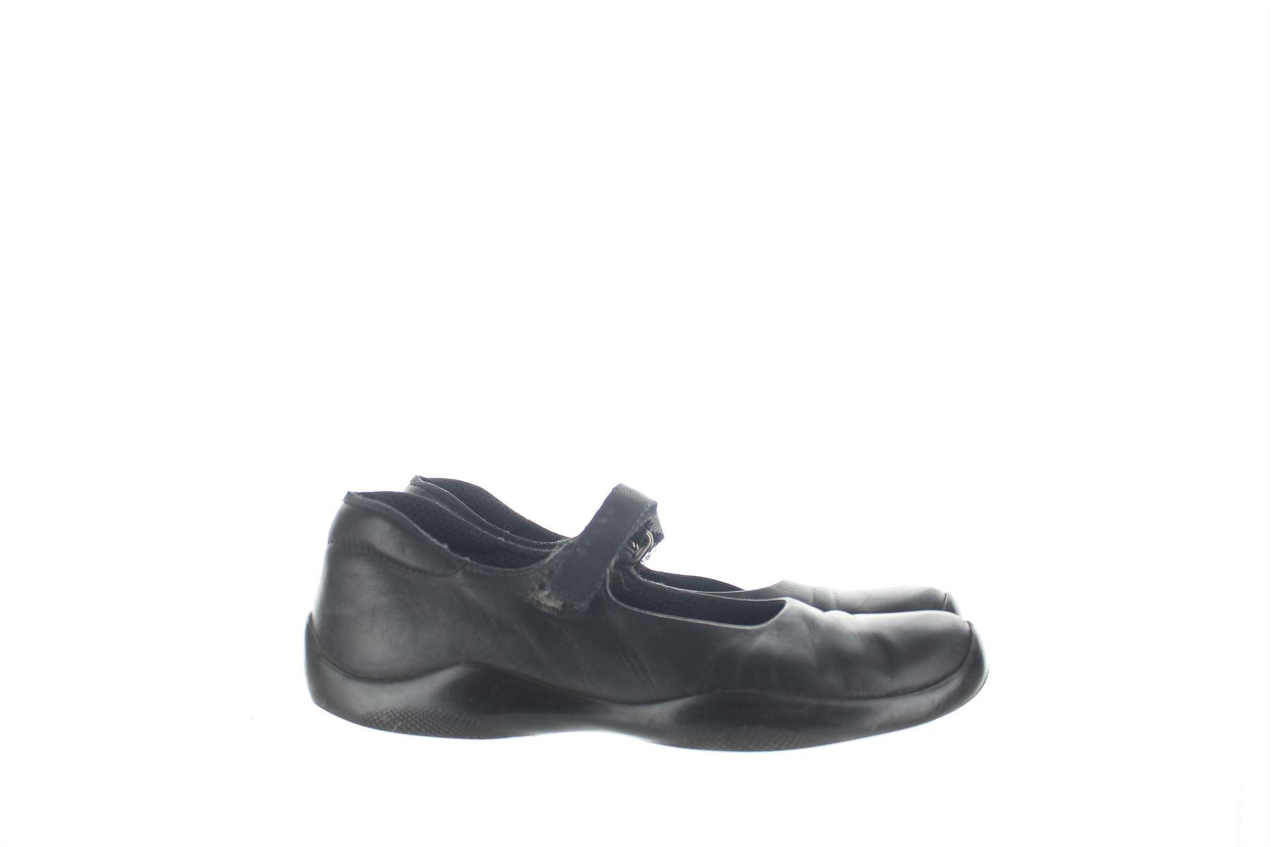PRADA Scarpe Cinturino in pelle nera, US EU 6.5 e1d843 EU US 36.5 e1d843 6.5   9eecd7