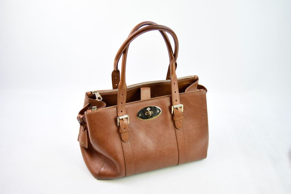 australia mulberry bayswater trippy ltd edt b108b cad4f  official store mulberry  bayswater brown leather double zip tote bag 9 x 7 x 14 9b9d5 871ca2b2a7f92