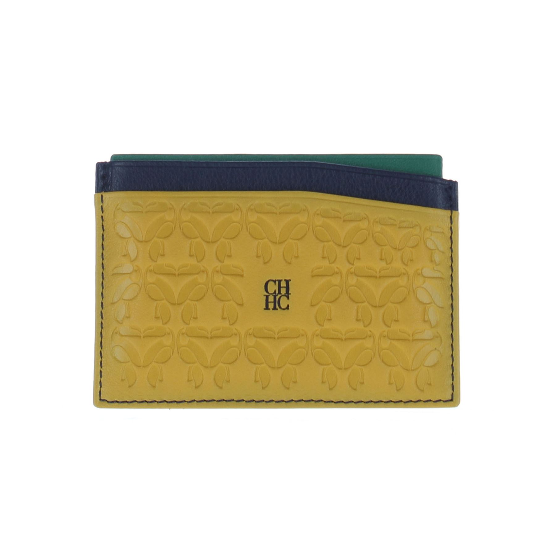 804363ca8 CAROLINA HERRERA Multicolor Cartera de cuero / monedero , 3