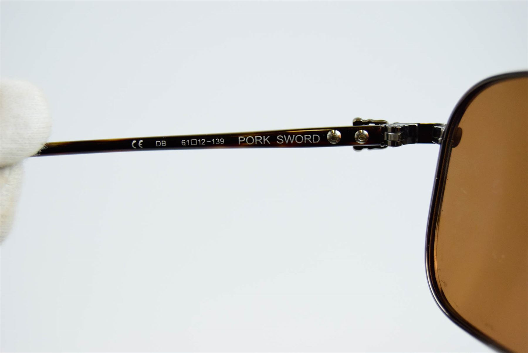 e27bcc3b6a94 CHROME HEARTS Pork Sword Brown Sunglasses