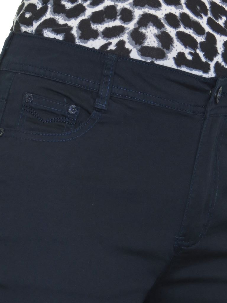 Ladies-Stretch-Stretch-Plus-Size-Jeans-Style-Shorts-Chino-Sheen-14-24 thumbnail 16