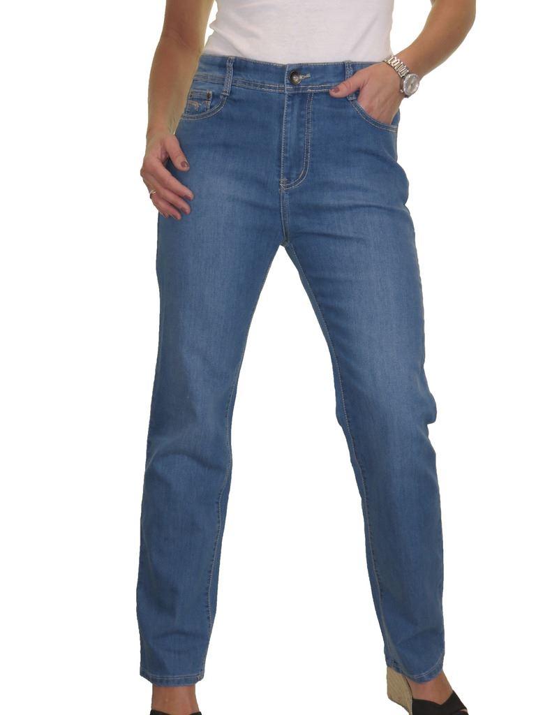 b683f52a35c High Waist Womens Plus Size Stretch Denim Straight Leg Jeans 14-24 ...