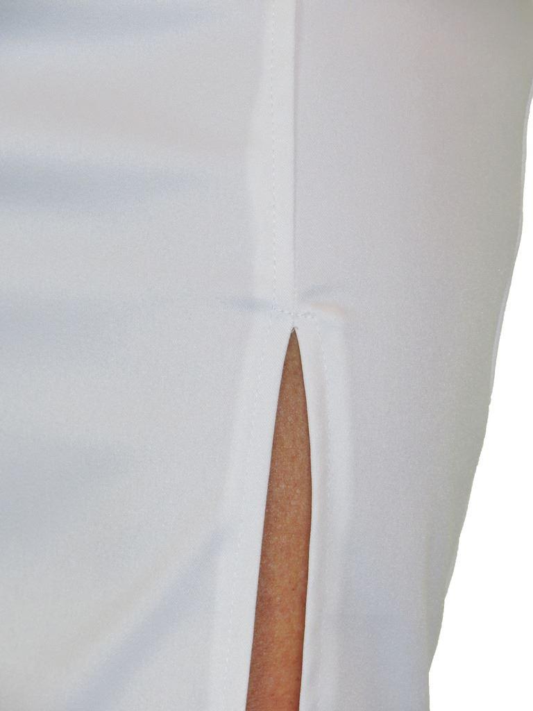ICE-2552-Front-Thigh-Split-Midi-Stretch-Bodycon-Pencil-Skirt-6-18 thumbnail 19