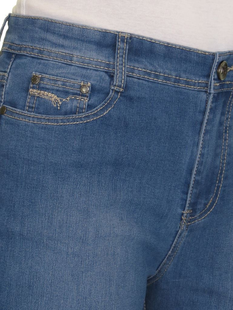 Ladies-High-Waist-Womens-Plus-Size-Stretch-Denim-Straight-Leg-Jeans-10-24