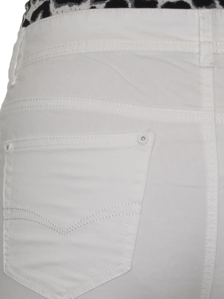 Ladies-Stretch-Stretch-Plus-Size-Jeans-Style-Shorts-Chino-Sheen-14-24 thumbnail 25